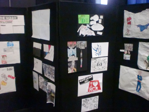 Design work on display at our celebration event.