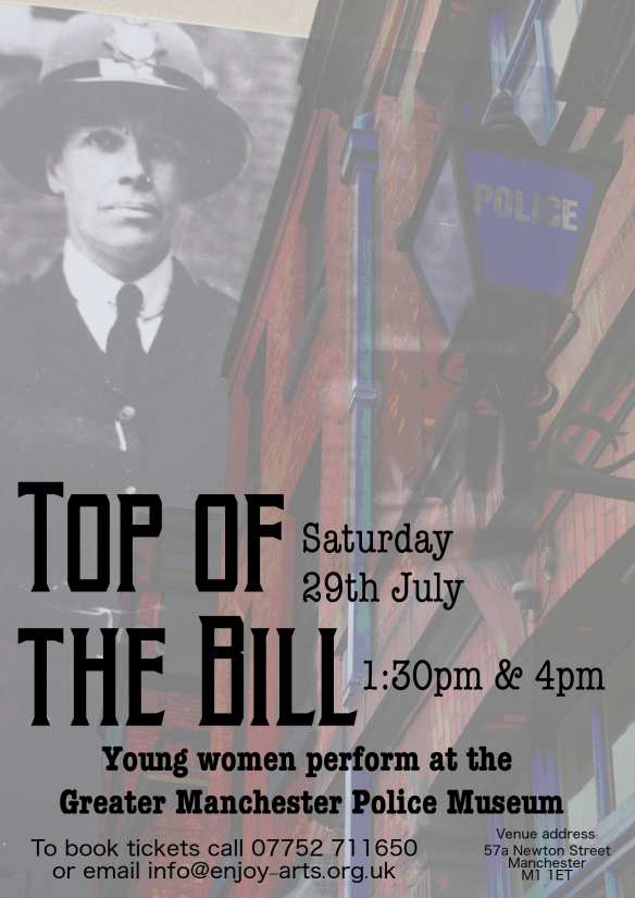 Top of the Bill Flyer
